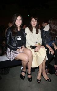 Alexa Chung & Daisy Lowe at JW Anderson